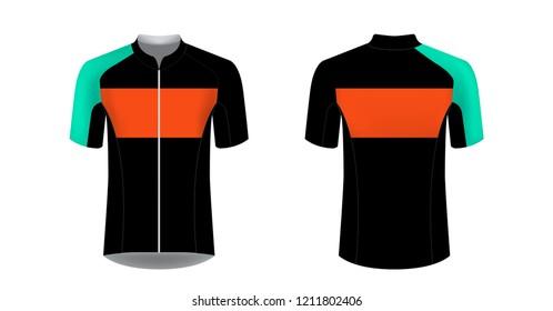 ae748941b Templates of sportswear designs for sublimation printing. Uniform blank for  triathlon
