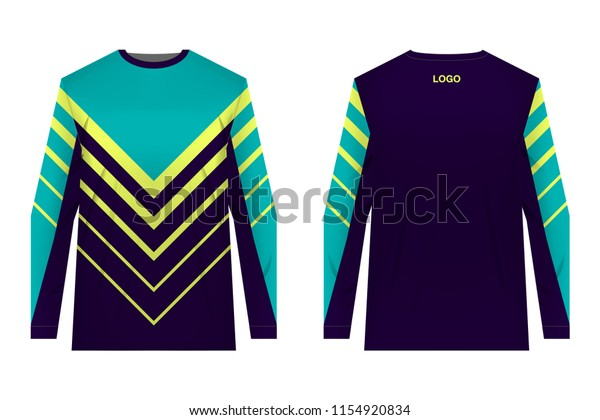 Templates Sportswear Designs Sublimation Printing Uniforms Stock