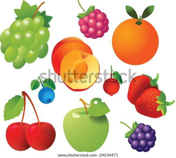 Ten fruits