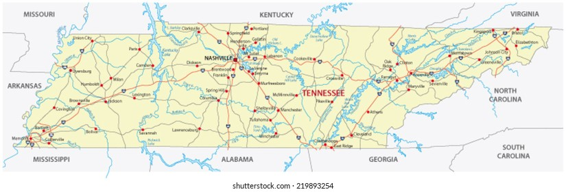 Tennessee Map Images Stock Photos Vectors Shutterstock