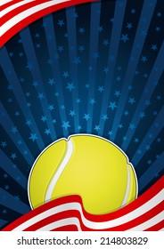 Tennis America Background