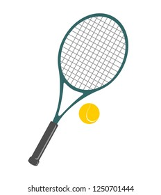 Tennis Ball And Racket Clip Art