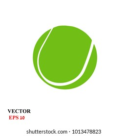 tennis ball. vector illustration
