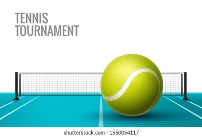 Tennis Championship game tournament background. Tennis competition flyer poster league design.