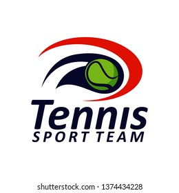 Tennis Logo Template Vector