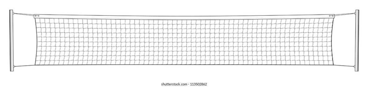 Tennis Net is an illustration of a net used in the game of tennis isolated on a white background.