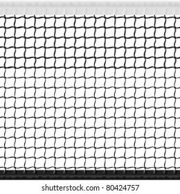 Tennis net. Seamless vector.