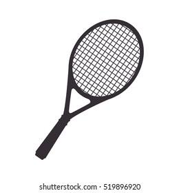 tennis racket equipment icon