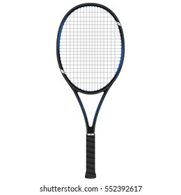 Tennis racket, vector design