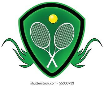 Tennis shield.