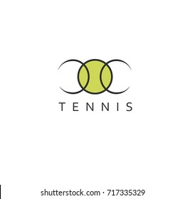 Tennis template for logo