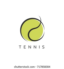Tennis. Template for logo