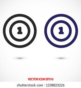 tennis vector icon 10 eps