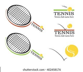 Tennis vector, tennis logos, tennis racket, tennis ball, tennis club