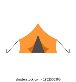 Tent. tent icon Vector illustration eps10