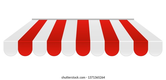 Tent sunshade vector design illustration isolated on white background