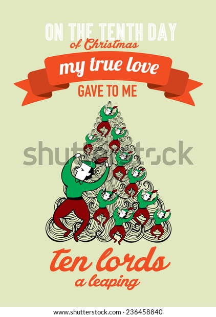 Tenth day of christmas my true love gave to me