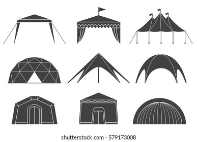 Vectores, imágenes y arte vectorial de stock sobre Marketing Tent