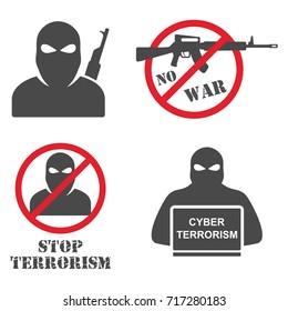 Terrorist Black Mask