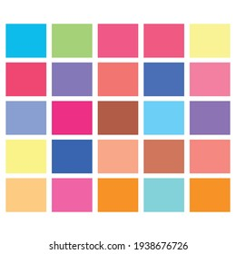 Tessellation, mosaic colorful, light colored squares, rectangles pattern