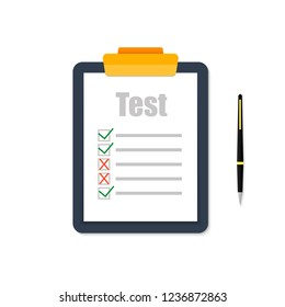 The test is shown on a white background.