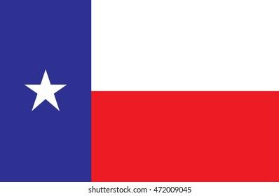 Texas Flag Vector
