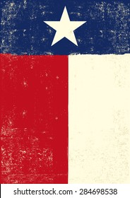 Texas grunge poster. A texan grunge poster for you.