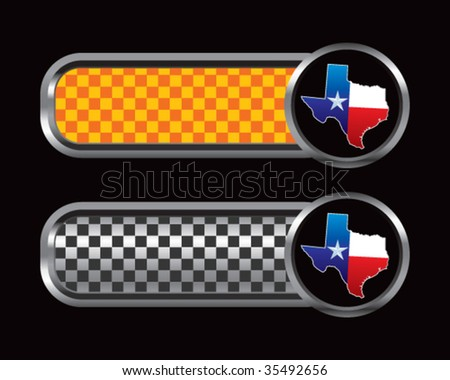 Texas Lonestar State On Diamond Textured Stock Vector (Royalty Free