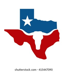 texas and longhorn logo