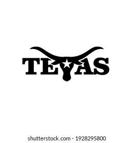 texas longhorn logo icon design