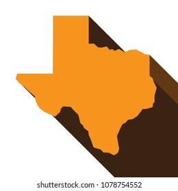 texas map. texas icon. texas symbol