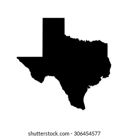 texas map. texas icon. texas symbol.