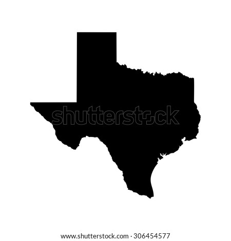 Texas Map Of Texas.Texas Map Texas Icon Texas Symbol Stock Vector Royalty Free