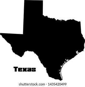Texas state svg, Vector, USA