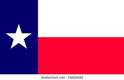 Texas (USA) flag