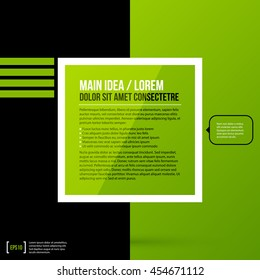 Text background template. Useful for covers, presentations and web design.