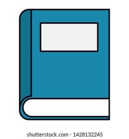 text book school supply icon