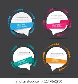 Text box vector.Perfect background design for headline and sale banner.