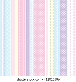 textile pattern BABY