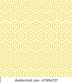 textile pattern yellow and white vector background