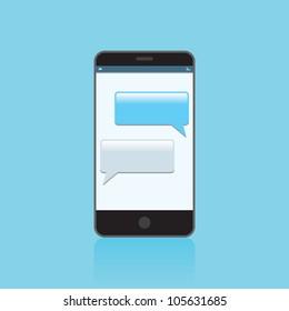 Texting blue