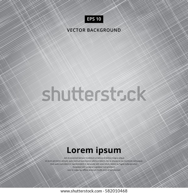 Texture background of gray fabric. Vector illustration. Canvas patterned thin strips.