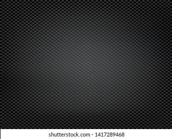 Texture black carbon fiber. Kevlar surface pattern. Vector background.