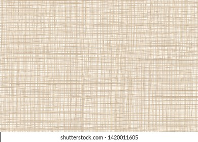 Texture of burlap, canvas. Vector background.