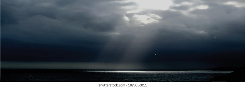 Texture dark floor with cloud. Scenic of clouds on heaven above the ground