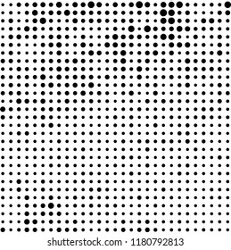 The texture of halftone monochrome abstract