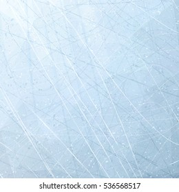 Texture of ice surface. Vector illustration background.