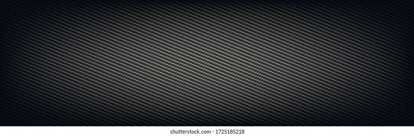 Texture panorama of black carbon fiber