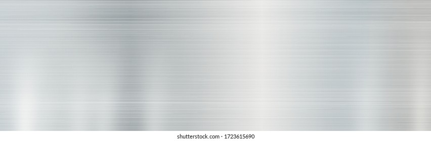 Texture - panorama silver metal background