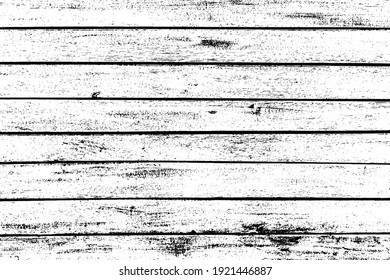 Texture of rural stained exterior brushed oak planks of country shed. Old dirty rough siding of gnarled surface wooden paneling. Rustic veined facing lumber fence of hard boards for 3D style design